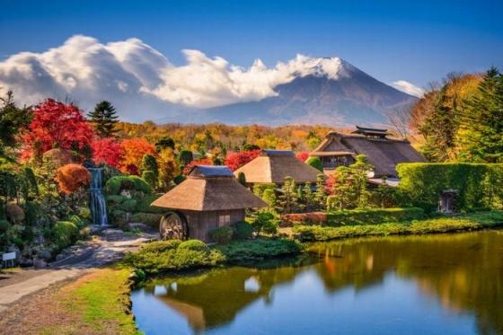 Tour Nhật Bản: Hà Nội - Yamanashi - Núi Phú Sỹ - Tokyo 4N - Lữ Hành Việt
