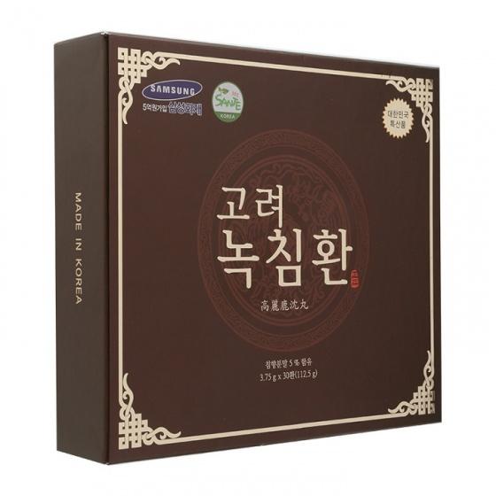 Viên hoàn trầm hương nhung hươu Samsung Hàn Quốc