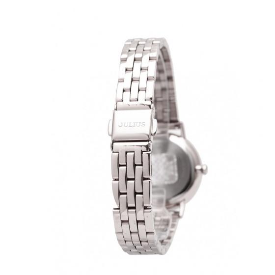 Đồng hồ nữ Julius Hàn Quốc JA-959A JU1209 dây thép ( bạc)