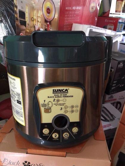 Máy làm tỏi đen SUNCA SF-G200 (Nâu) - Hàng nhập khẩu