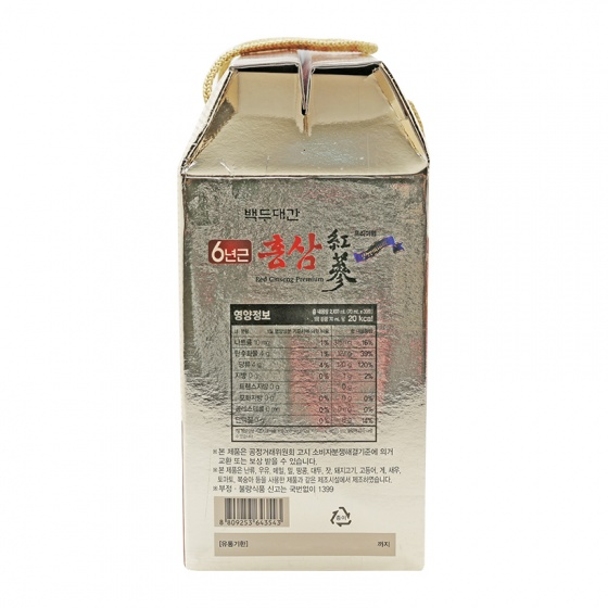 Nước uống hồng sâm - Red Ginseng Premium DONG SEO WELL BEING Hàn Quốc