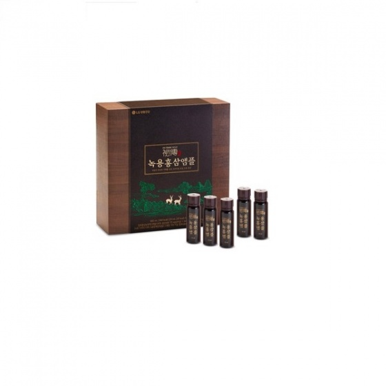 Nước hồng sâm nhung cao cấp Re:tune Gold Vision Velvet Antler Red Ginseng Ampoule