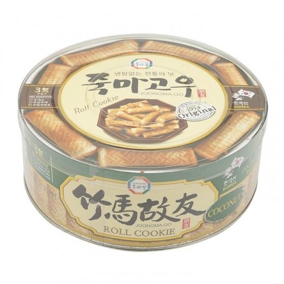 Bánh cuộn vị dừa Joongma-Go Hàn Quốc 365g/hộp - combo 2 hộp
