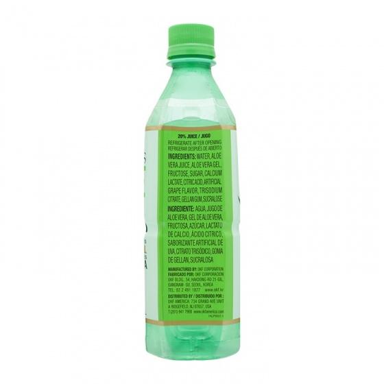 Nước giải khát nha đam OKF Hàn Quốc 500ml/chai - Combo 5 chai