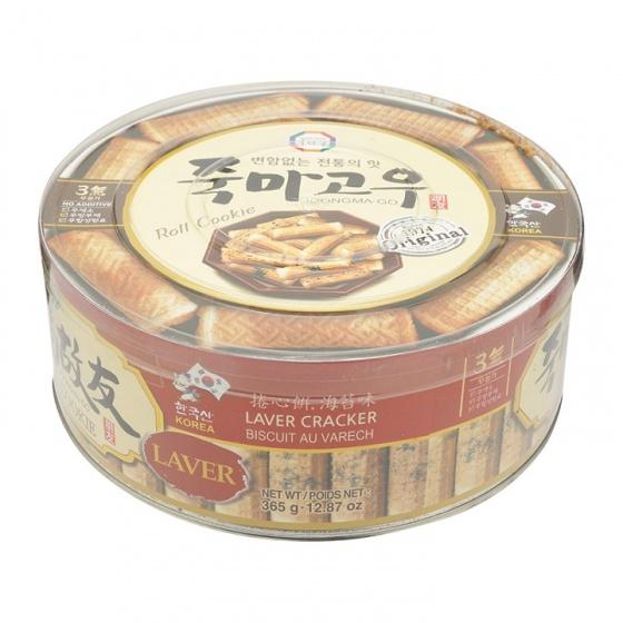 Bánh cuộn vị rong biển Joongma-Go Hàn Quốc 365g/hộp - combo 3 hộp