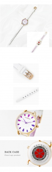 Đồng hồ nữ MS521 Mangosteen Seoul Hàn Quốc dây da (5 màu)
