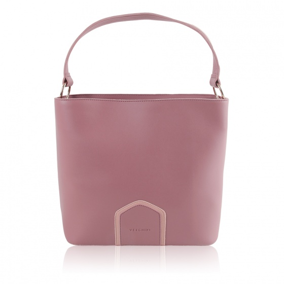 Túi thời trang Verchini màu hồng ruốc 13000493