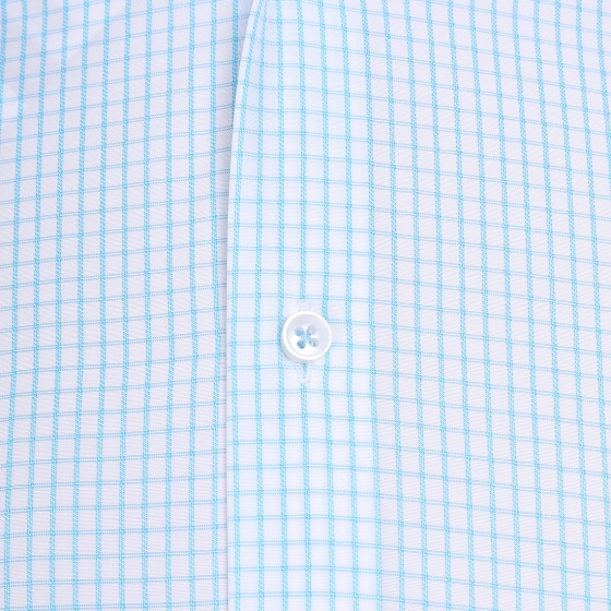 Áo sơ mi nam tay ngắn họa tiết The Shirts Studio Hàn Quốc TD13F2323MI