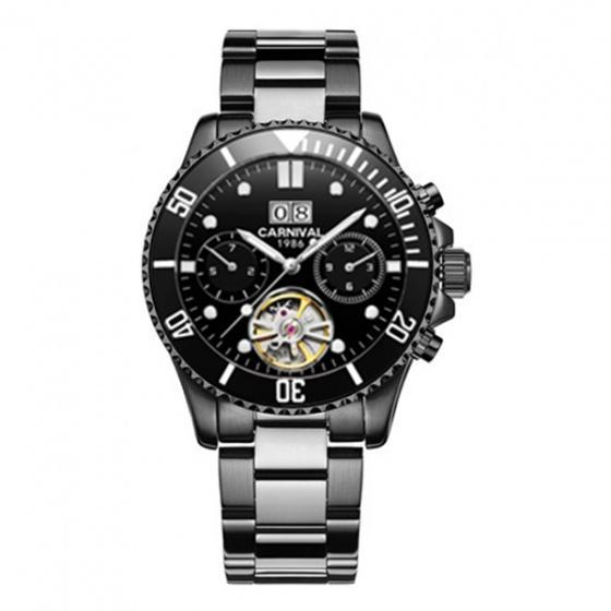 Đồng hồ nam dây thép Carnival G88002.102.212