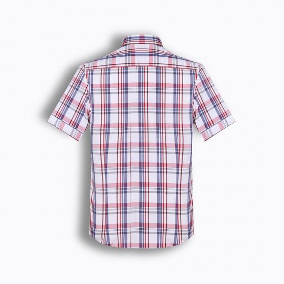 Áo sơ mi nam tay ngắn họa tiết The Shirts Studio Hàn Quốc TD13F2318RE
