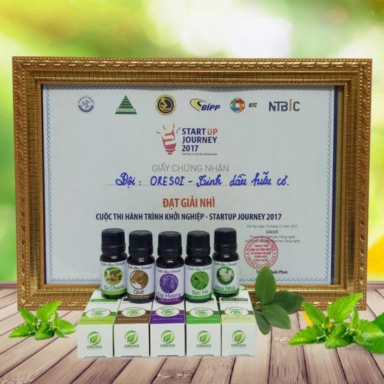 Combo 3 lọ tinh dầu oải hương hữu cơ 100% nguyên chất (10ml) - Tinh dầu hữu cơ Oresoi