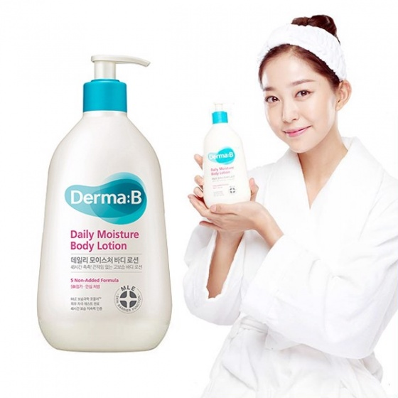 Dưỡng thể Derma:B Daily Moisture Body Lotion 257ml