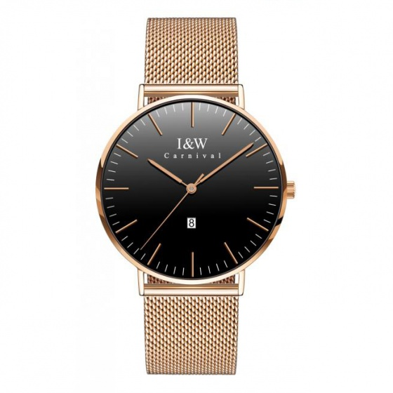 Đồng hồ nam dây thép Carnival IW008.224.24