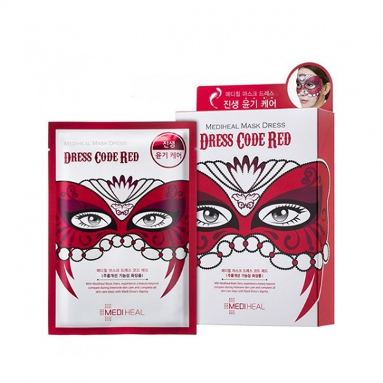 Mặt nạ Mediheal Mask Dress Code Red Mask