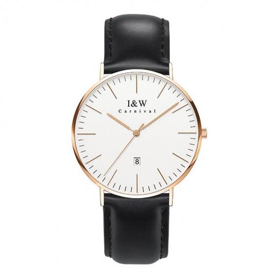 Đồng hồ nam dây da Carnival IW008.214.02