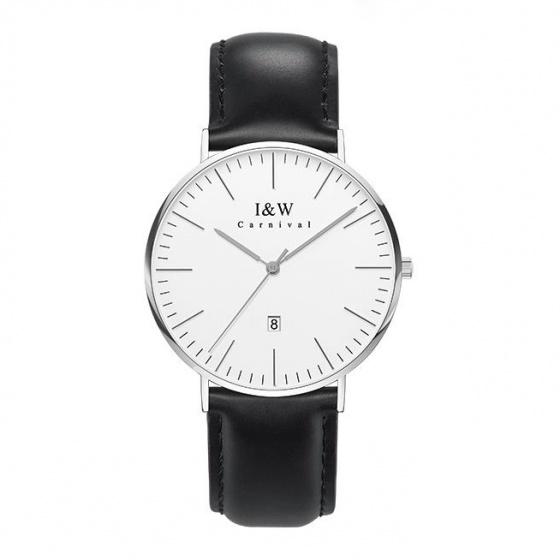 Đồng hồ nam dây da Carnival IW008.211.02