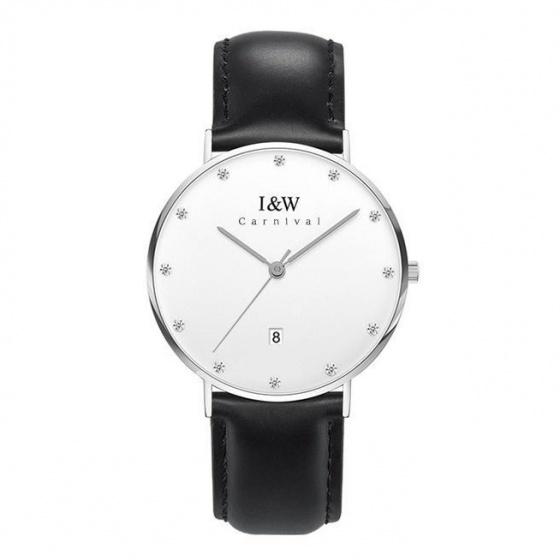 Đồng hồ nam dây da Carnival IW014.211.02