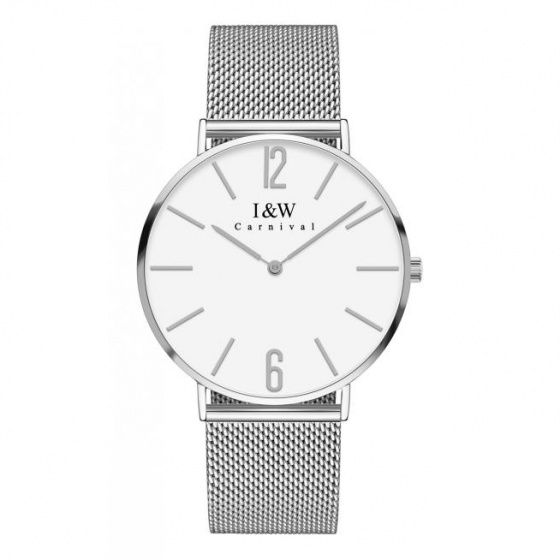 Đồng hồ nam dây thép Carnival IW042.111.21