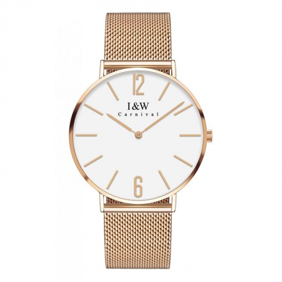 Đồng hồ nam dây thép Carnival IW042.114.24