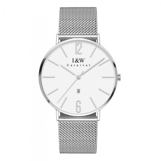 Đồng hồ nam dây thép Carnival IW045.111.21