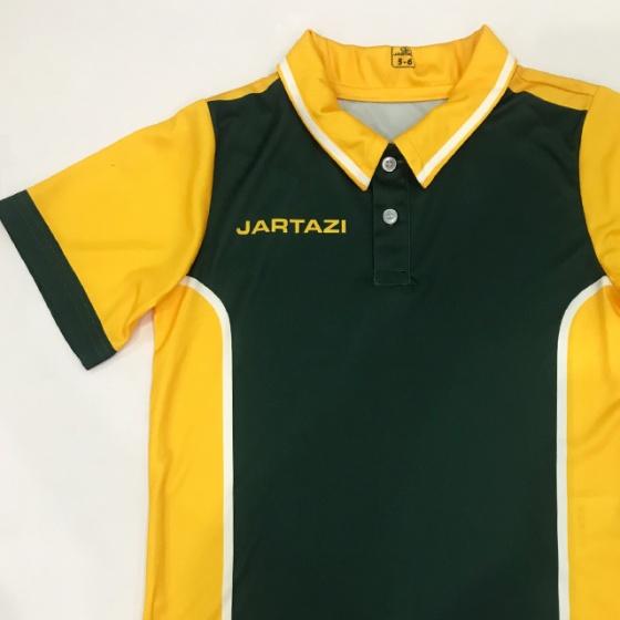Áo thun tay ngắn có cổ trẻ em Jaratzi (Short sleeve polo ) JK18-0002