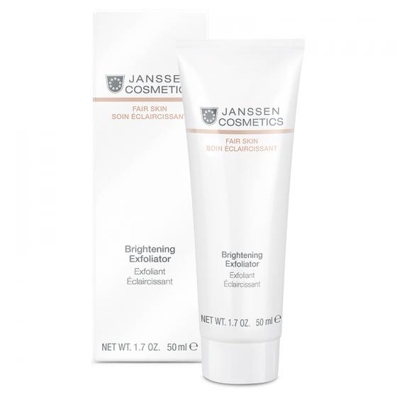 Tẩy tế bào chết giúp trắng sáng da - Janssen Cosmetics Brightening Exfoliator 50ml
