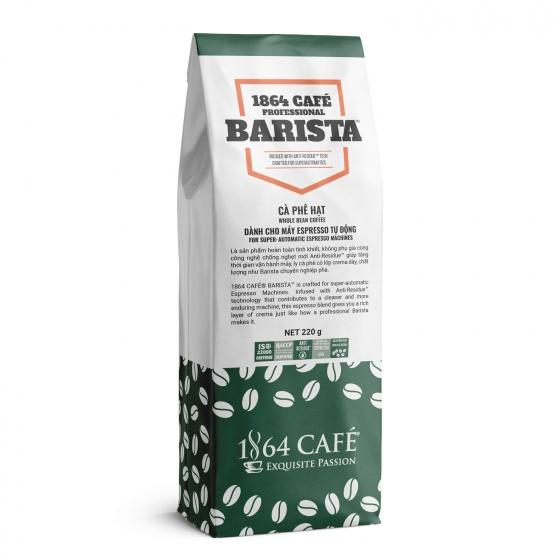 1864 Café professional barista 220g - cà phê pha máy espresso hoàn toàn tự động không dầu, không bơ