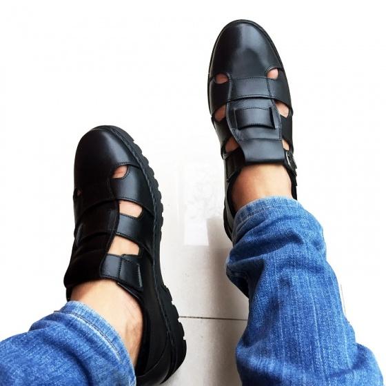 Giày hè nam da bò thật chính hãng GCS11 GELELI