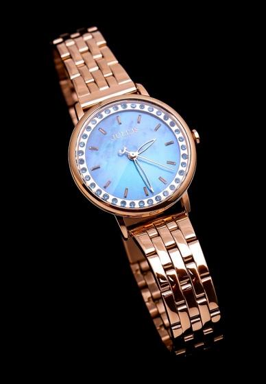 Đồng hồ nữ Julius Hàn Quốc dây thép JA-959 JU1209 (Đồng xanh)