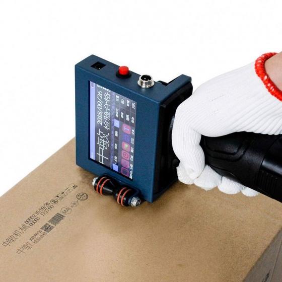 Máy in cầm tay đóng date, in logo,in số lô hàng, in mã vạch trên mọi vật liệu Aturos Printer N3