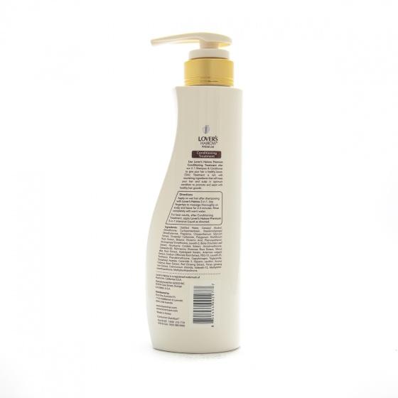 Dầu xả chống rụng tóc cao cấp Lover's Hairow Premium Scalp Tonic Conditioning Treatment (400ml)