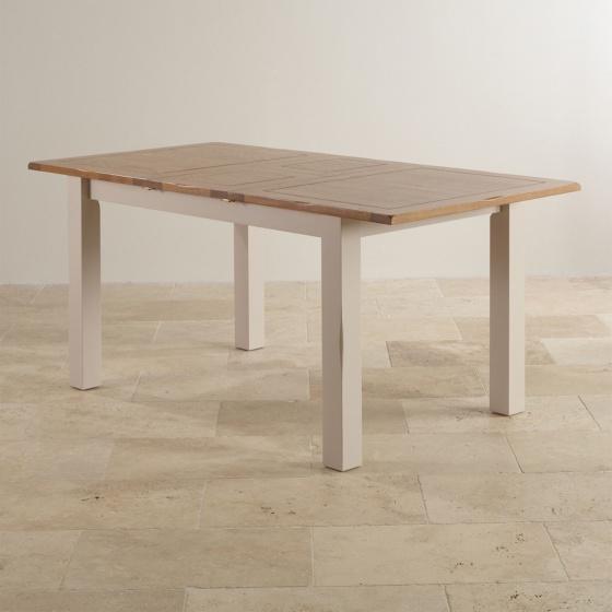 Bàn ăn 4 chỗ Sintra gỗ sồi 1m2 (120x60cm) - Cozino