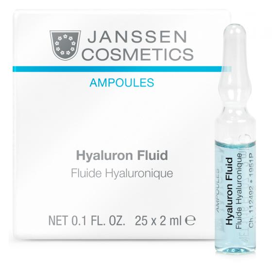 Tinh chất cung cấp độ ẩm cho da - Janssen Cosmetics Hyaluron Fluid 25 ống*2ml