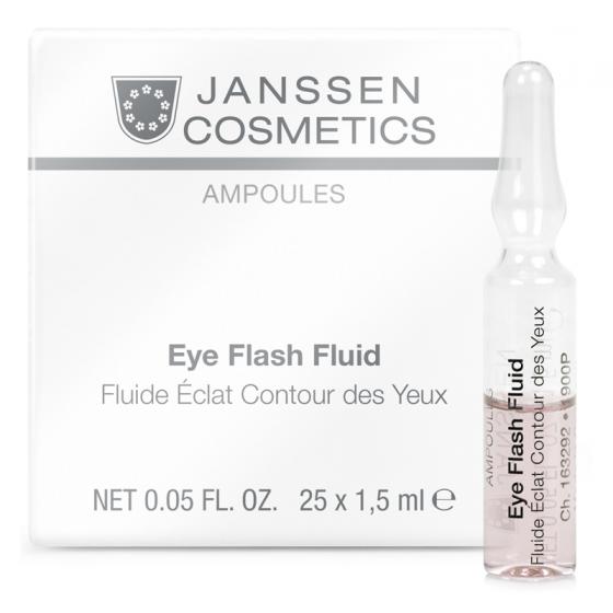 Tinh chất điều trị vùng mắt - Janssen Cosmetics Eye Flash Fluid 25 ống*2ml