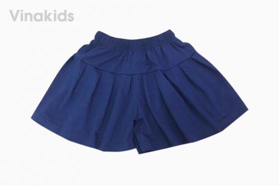 Đồ bộ bé gái quần giả váy thiên nga màu vàng 7-10 tuổi