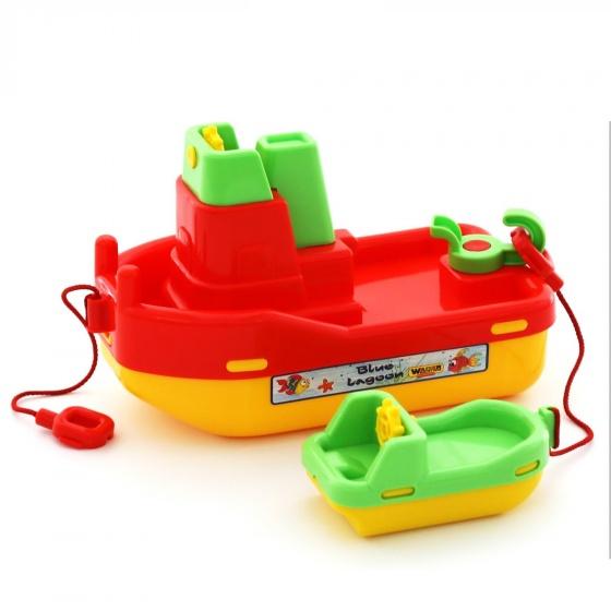 Bộ đồ chơi mô hình Tàu kéo Số 402 Wader Quality Toys