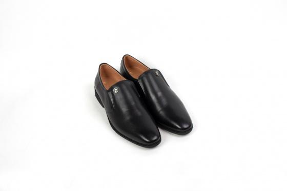 Giày lười da nam Penny Loafer Piere Cardin PCMFWLC089BLK - Đen