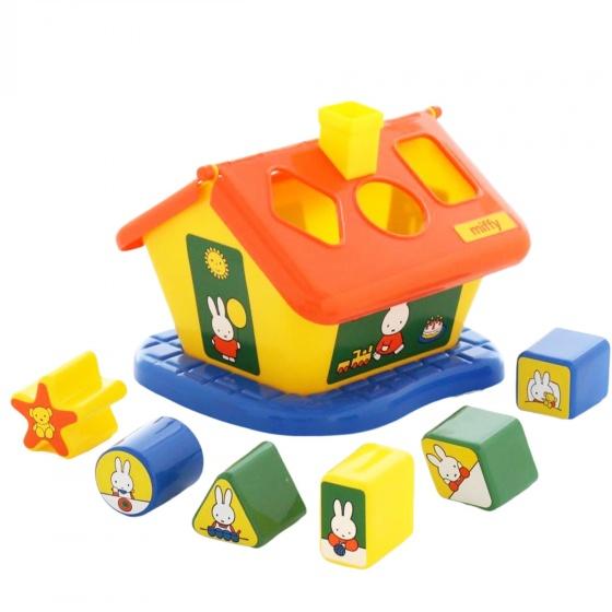 Bộ đồ chơi Ngôi nhà thỏ Miffy Polesie Toys