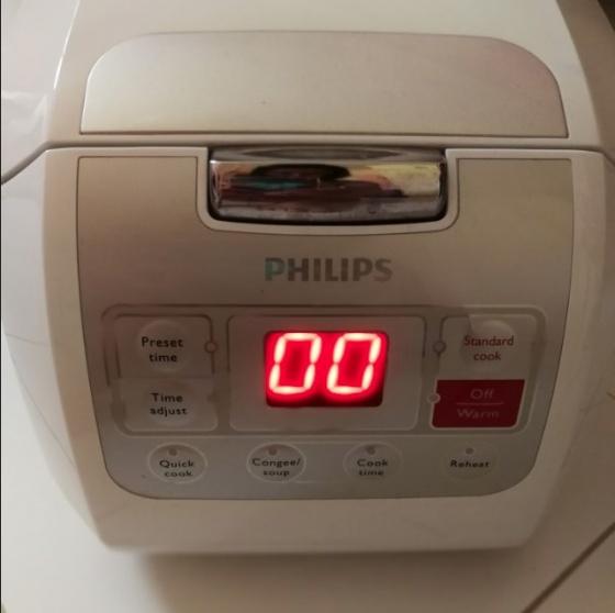 Nồi cơm điện tử 1 lít Philips HD3030 hãng phân phối