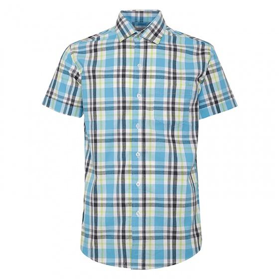 Bộ 3 áo sơ mi ngắn tay sọc caro thời trang SMC017