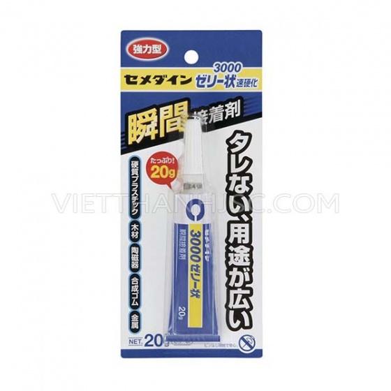 Hàng Nhật - Keo gắn nhựa, gỗ, giấy, xốp 20ml