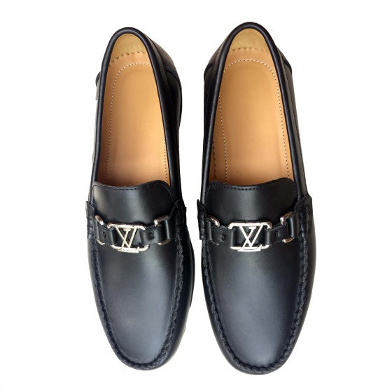Giày lười nam da bò thật GM3 Geleli