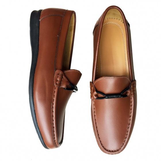 Giày lười nam da bò thật GM2N Geleli