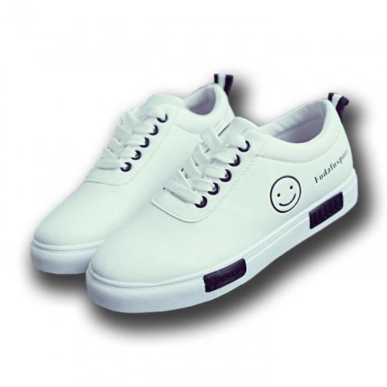 Giày nữ thể thao sneaker, giày thể thao nữ, giày nữ mặt cười