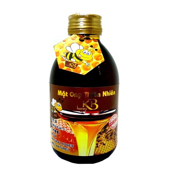 Mật ong thiên nhiên nguyên chất KB 250ml tặng thỏi mật ong dưỡng môi 10ml