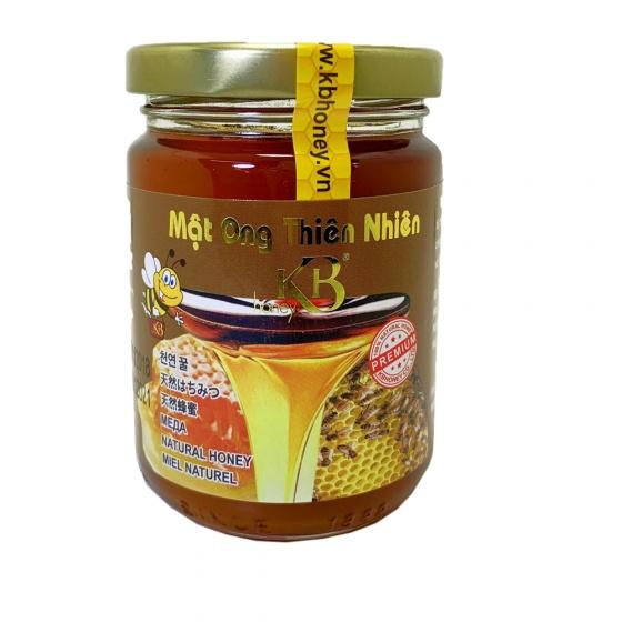 Mật ong thiên nhiên nguyên chất KB 200ml tặng thỏi mật ong dưỡng môi 10ml