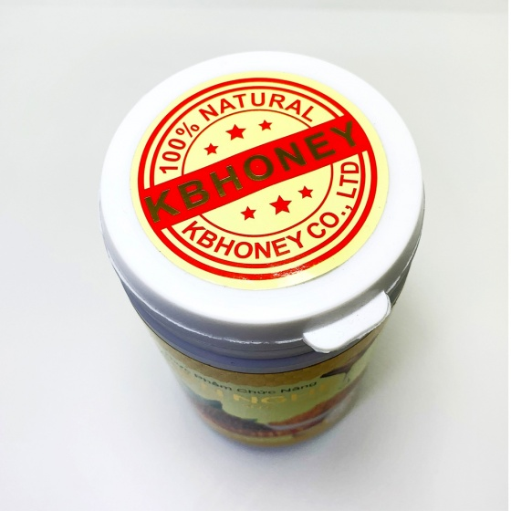Combo 2 hộp viên nghệ mật ong sữa chúa KB 200G tặng thỏi mật ong dưỡng môi 10ml