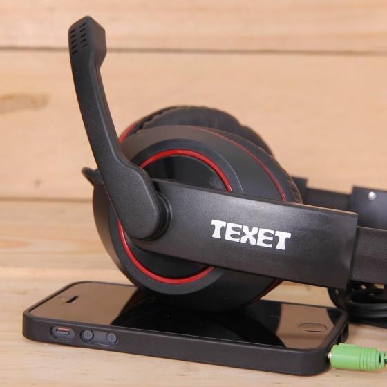 Tai nghe chụp tai có mic Texet PCM-001 - Bảo hành 1 năm