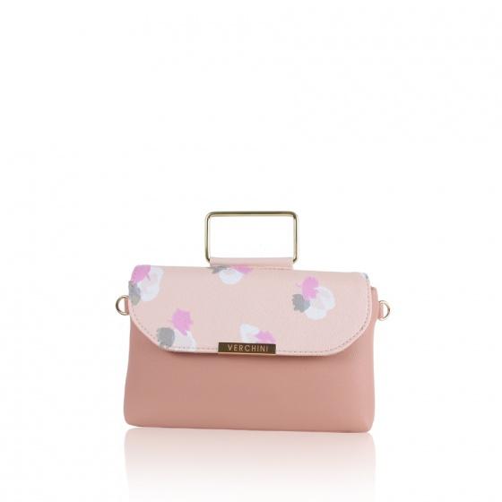 Túi thời trang Verchini màu hồng 13000602