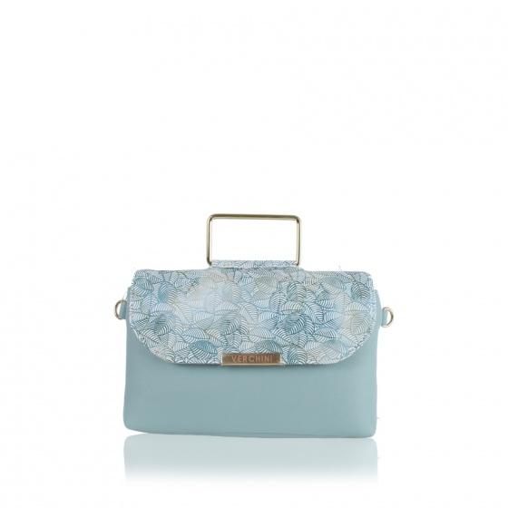 Túi thời trang Verchini màu xanh ngọc 13000601